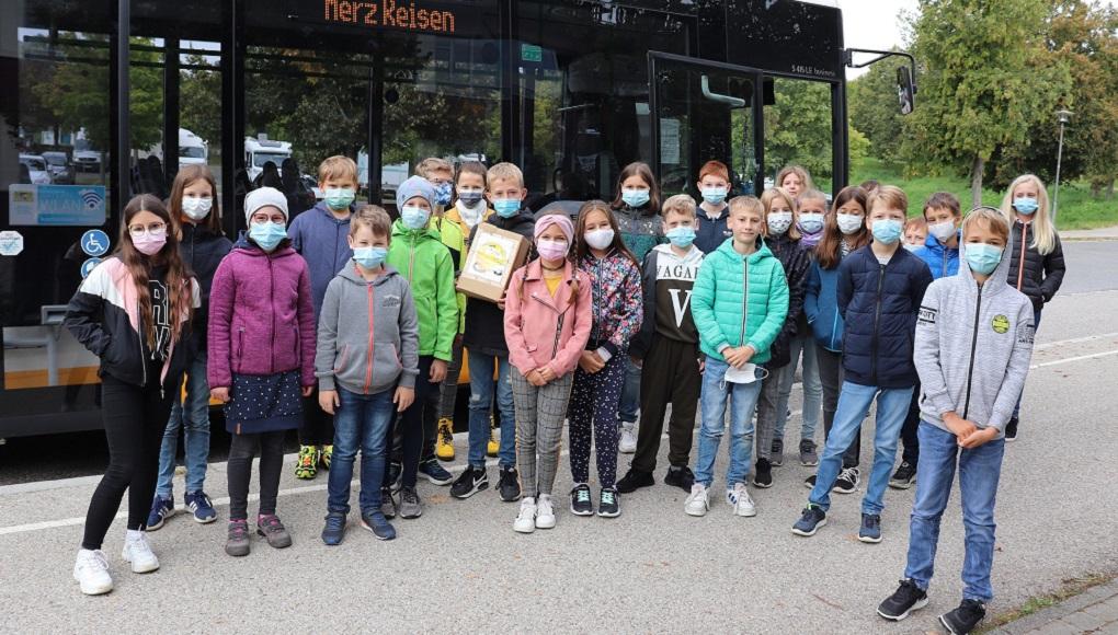 Bustraining für die fünften Klassen