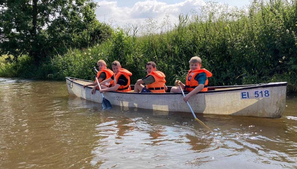 Mit dem Kanu auf der Altmühl