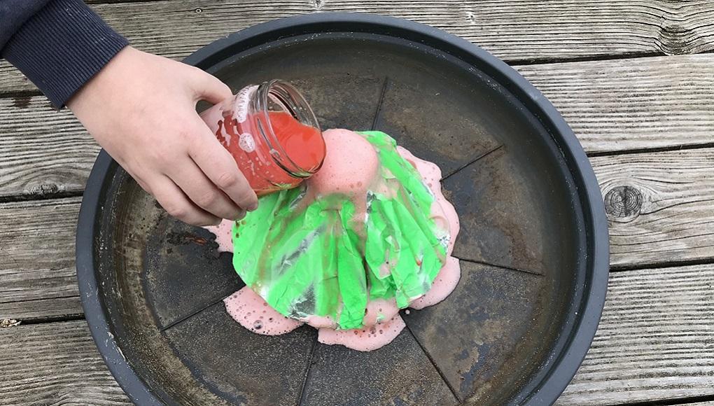 Vulkanismus im Homeschooling